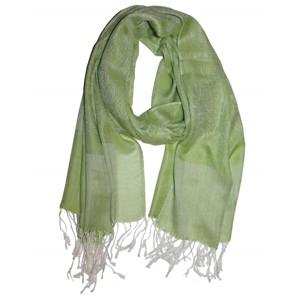 Kašmírový šál Luxus svetlo zelený · Kašmírový šál tmavo oranžový 0b8673b199