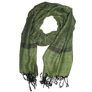 Kašmírový šál Luxus zelený · Kašmírový šál tmavo oranžový 32b995f637